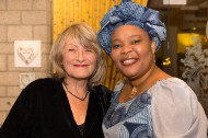 Alice Schwarzer & Leymah Gbowee Friedensnobelpreisträgerin